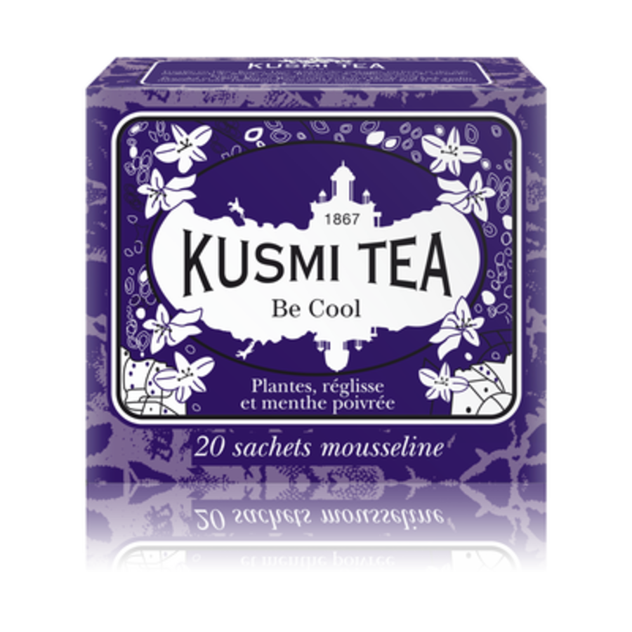 Kusmi Tea - Be Cool - Boîte 20 sachets - 44g
