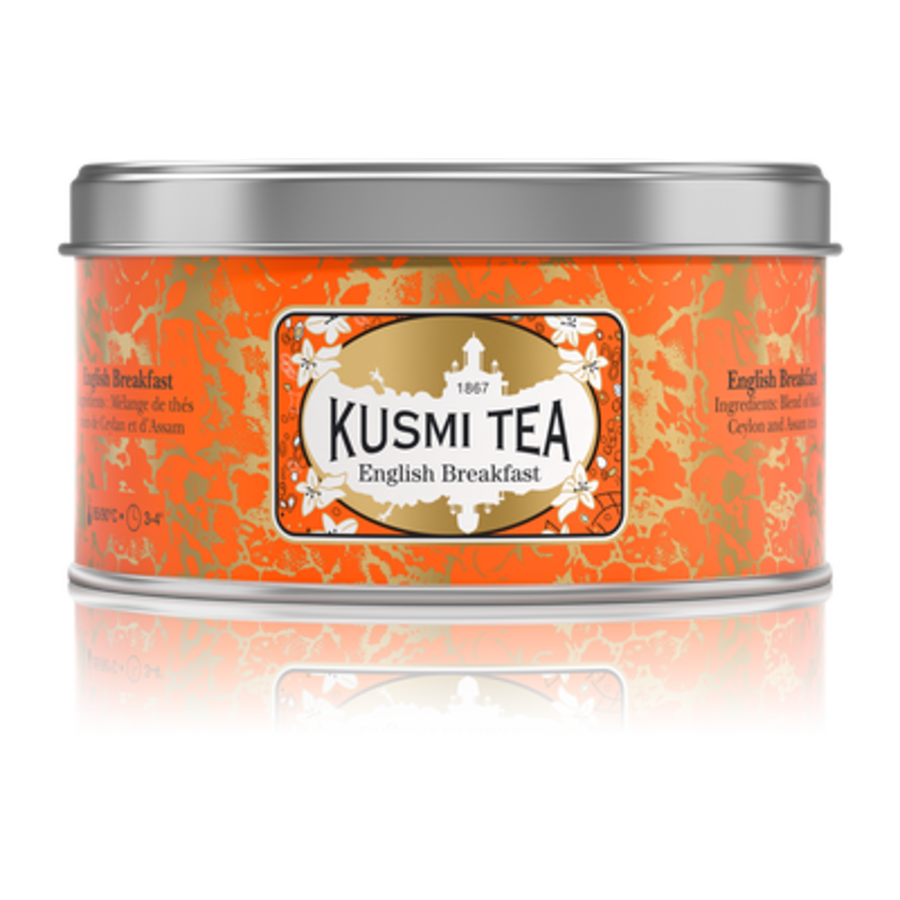 Kusmi Tea - English Breakfast- Boîte métal - 125g