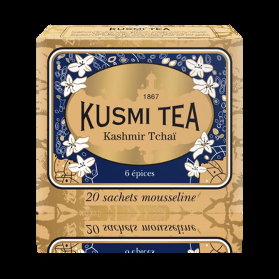 Kusmi Tea - Kashmir Tchaï - Boîte de 20 sachets - 44g