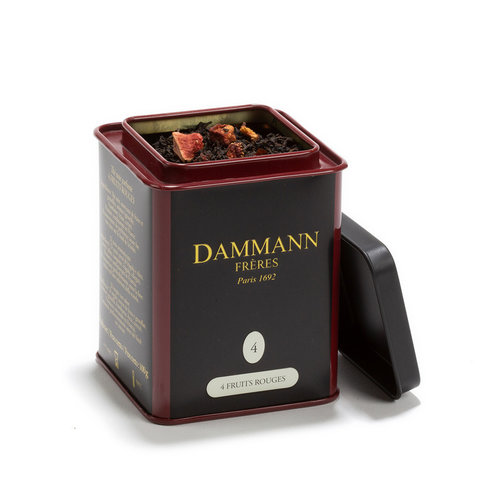 Thé noir 4 fruits rouges 100g | Dammann