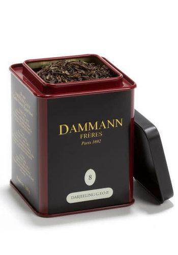 DAMMANN Frères - Thé noir Darjeeling G.F.O.P. #8 - 100g