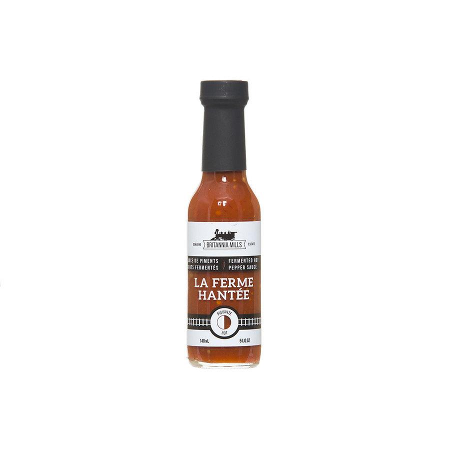 Sauce piquante La Ferme Hantée rouge  148 ml