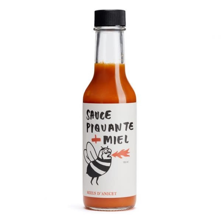 Miels d'Anicet - Hot Sauce  + Honey - 150 ml