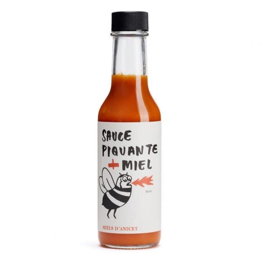 Miels d'Anicet - Sauce piquante  + Miel - 150 ml
