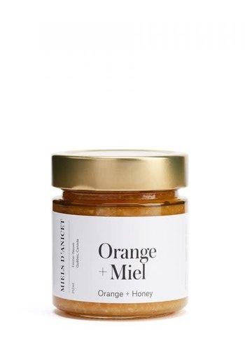 Miels d'Anicet - Tartinade Orange & Miel - 212 ml