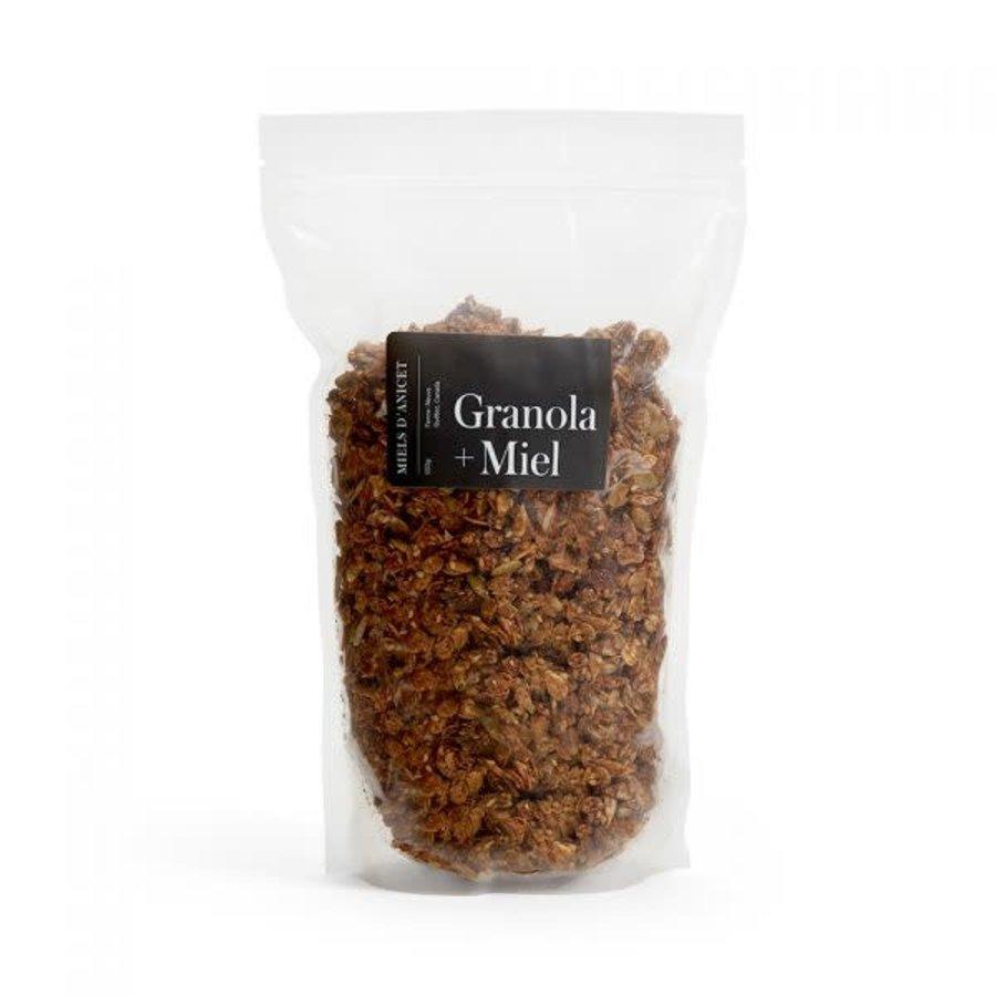Miels d'Anicet - Granola + Miel - 500g