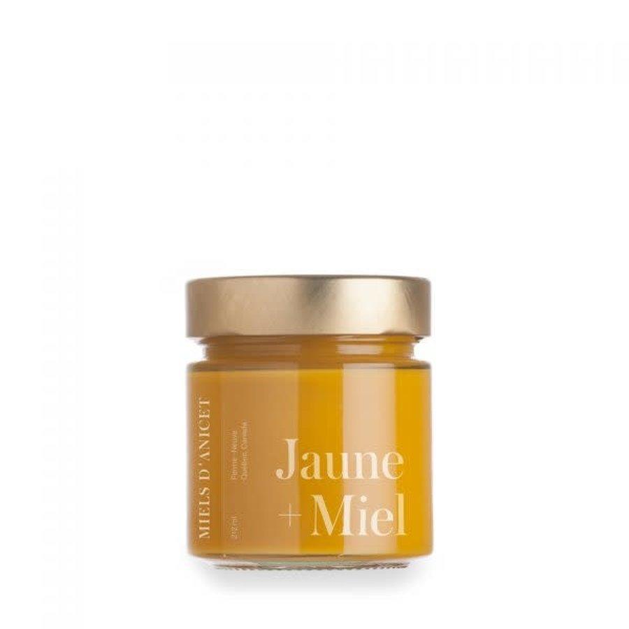 Miels d'Anicet - Moutarde Jaune + Miel - 212 ml