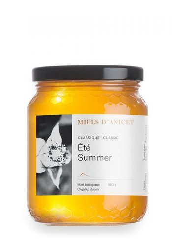 Miels d'Anicet - Récolte d'Été (Miel Classique) - 500g