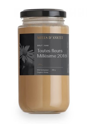 Miels d'Anicet - All Vintage Flowers (Raw Honey) - 340g