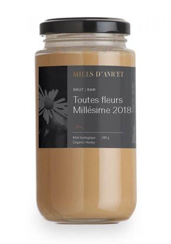 Miels d'Anicet - Toutes fleurs Millésime (Miel Brut) - 340g