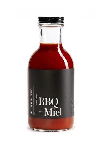 Miels d'Anicet - Sauce BBQ + Miel  - 400ml