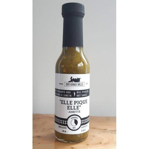 Britannia Mills - Elle pique elle (aneth sauce piquante) - 148ml
