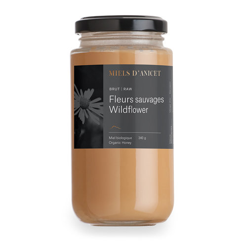 Miels d'Anicet - Wildflower (Raw Honey) - 340 g