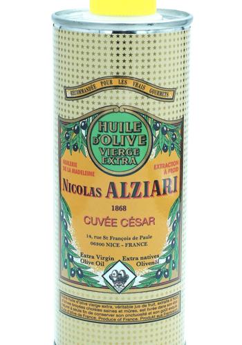 Nicolas Alziari - Huile d'olive délicate et fine - Cuvée César (jaune) - 250 ml