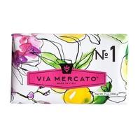Via Mercato - Savon en barre (1) - Bergamote, patchouli et bois de rose - 200g