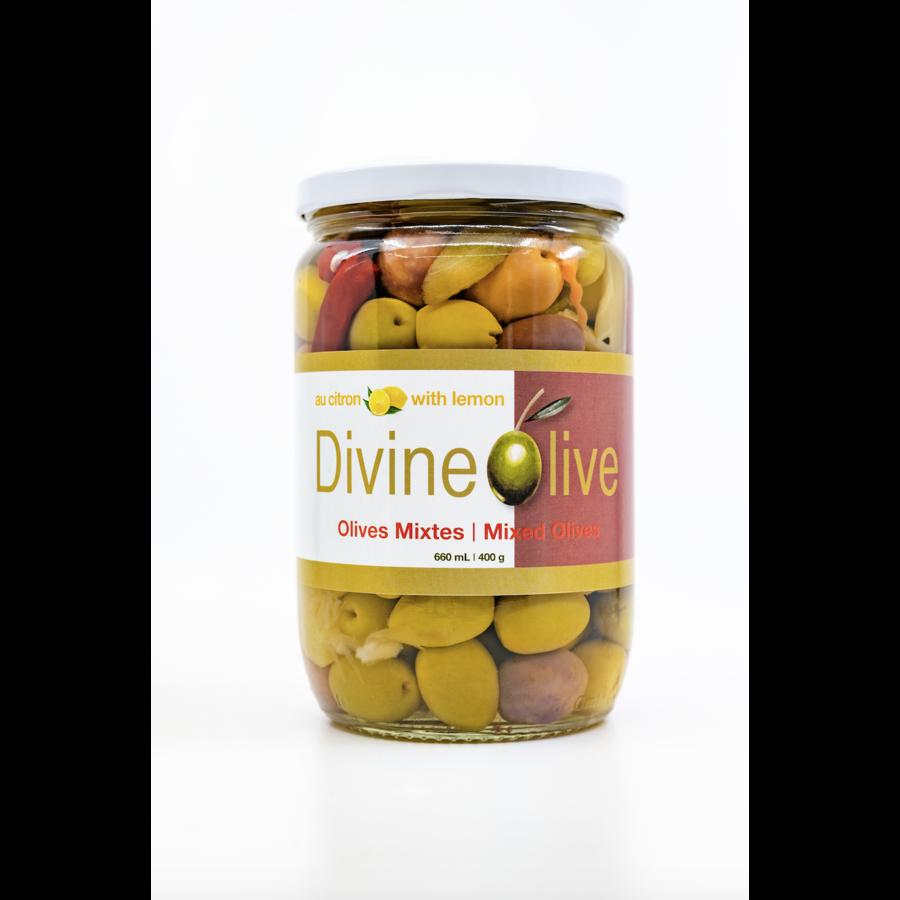 Olives Mixtes - Divine Olive - 400g
