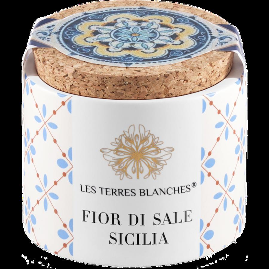Fleur de sel de Sicile 70g | Les Terres Blanches