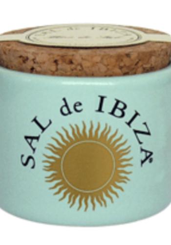 Fleur de Sel -  Pot en céramique  - Sal de Ibiza - 70g