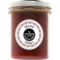 Confiture de fraise et tonka  200g | La Chambre aux Confitures