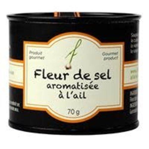 Fleur de sel aromatisée à l'ail - À Fleur de Pot - 70g