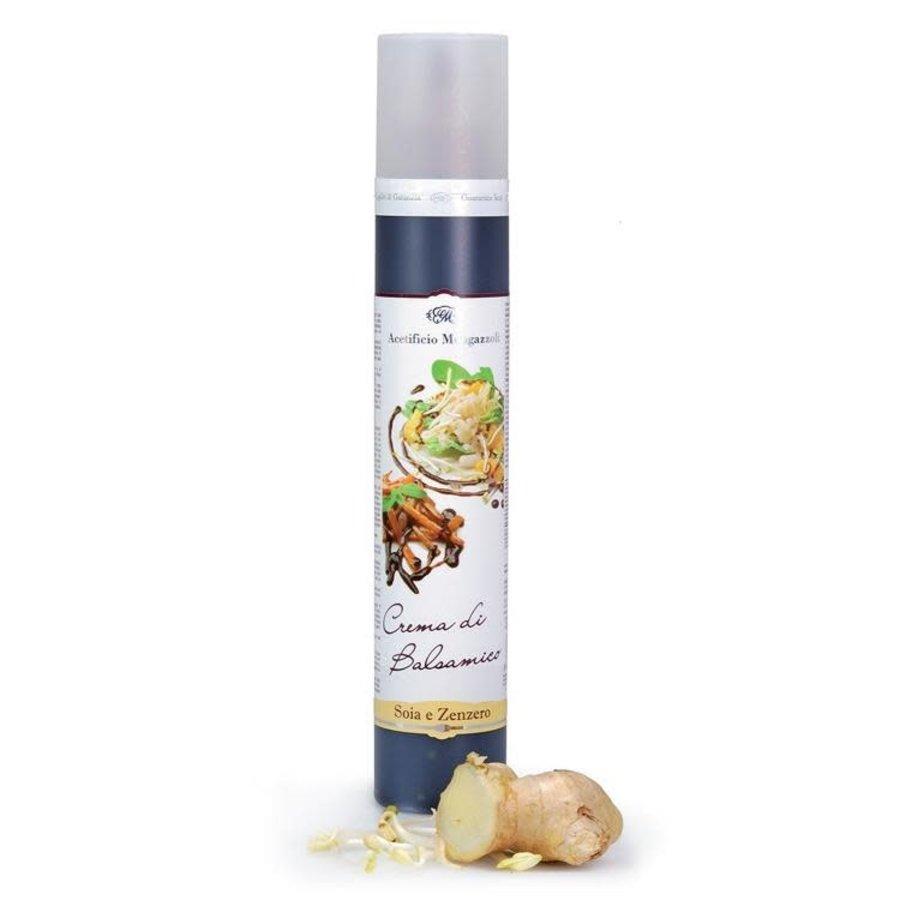 Crème de balsamique soya et gingembre - Mengazzoli - 320g