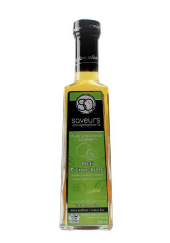 Huile assaisonnée - Thaï Citron et Lime - 250 ml