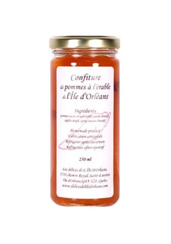 Confiture pommes et érable - Délices de l'Île d'Orléans - 250 ml