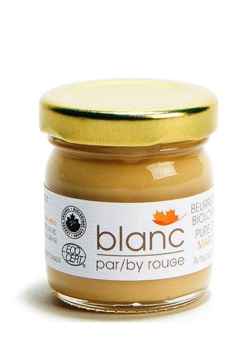 Beurre d'érable biologique et 100% pur - Blanc par Rouge - 45g