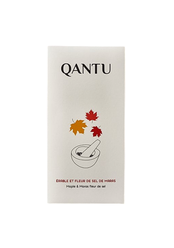 Chocolat noir chuncho 60% - Érable & fleur de sel - Qantu - 50g
