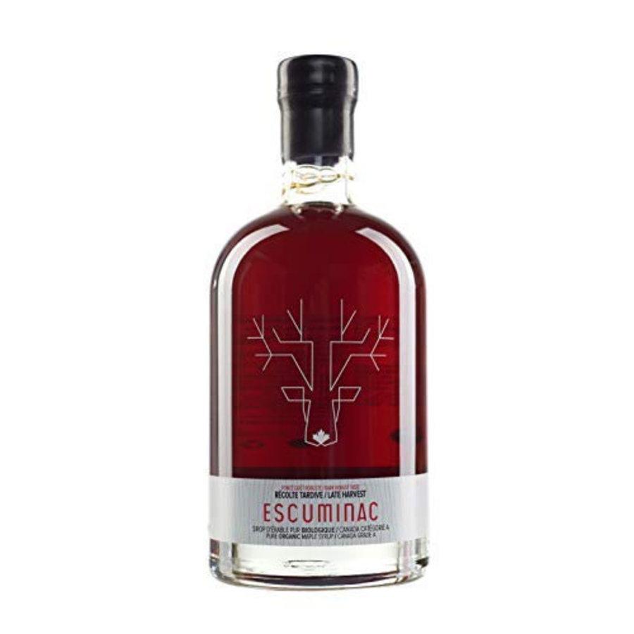 Sirop d'érable Récolte tardive - Érablière Escuminac - 500ml