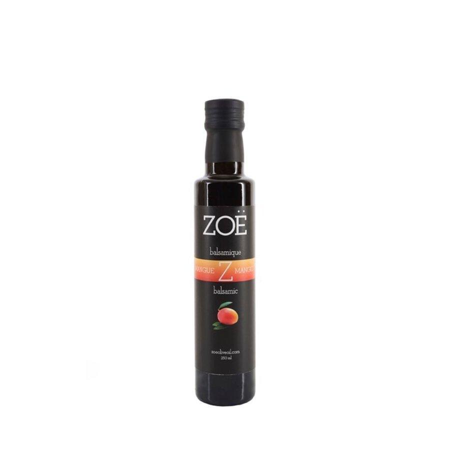 Vinaigre balsamique infusé à la mangue - Zoë - 250 ml