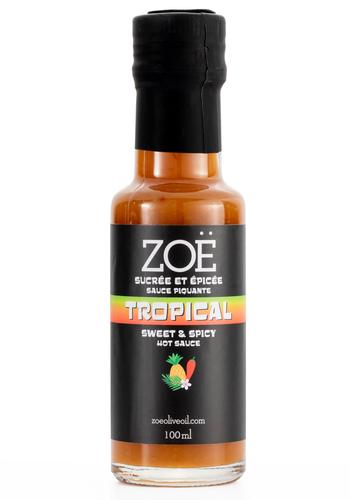 Sauce piquante Tropicale - Zoë - 100 ml