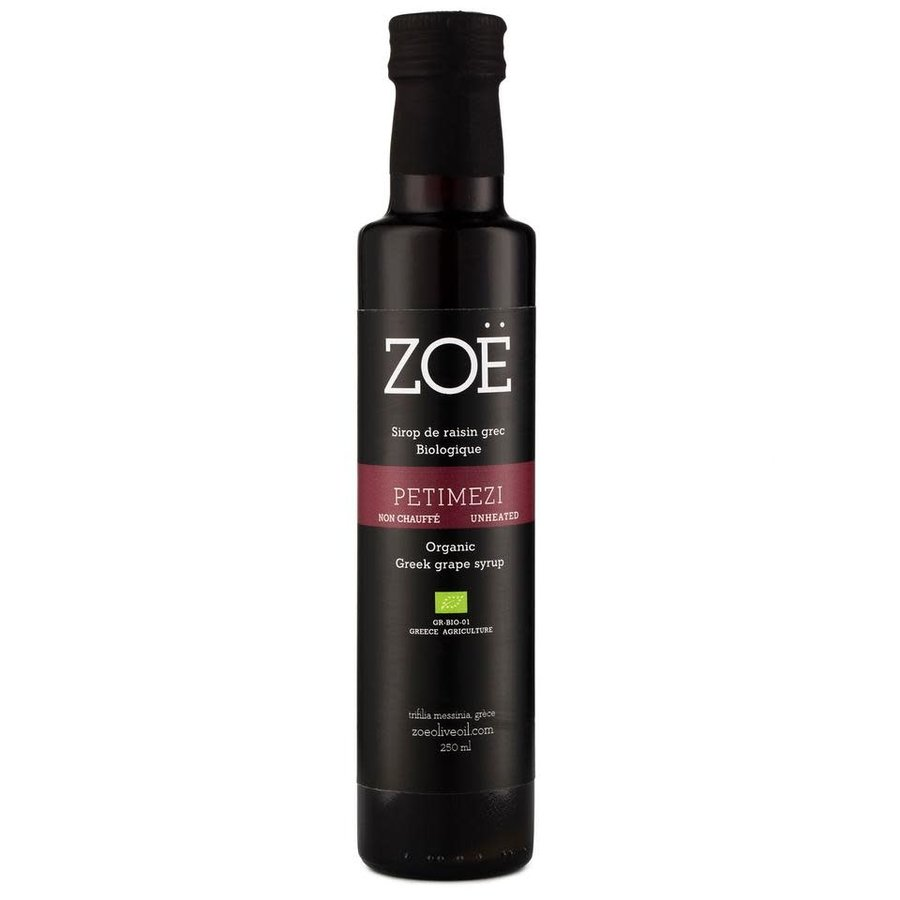 Petimezi Sirop de raisin bio de la Grèce - Zoë - 250 ml