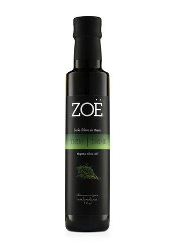 Huile d'olive infusé au Thym -  Zoë - 250 ml