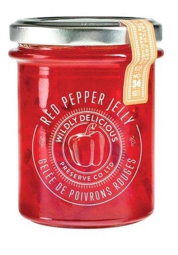 Confiture de poivron rouge piquant - Wildly Delicious - 250 ml