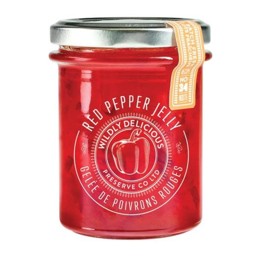 Confiture de poivron rouge - Wildly Delicious - 250 ml