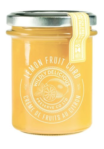 Lemon Fruit Curd  - Wildly Delicious - 185ml