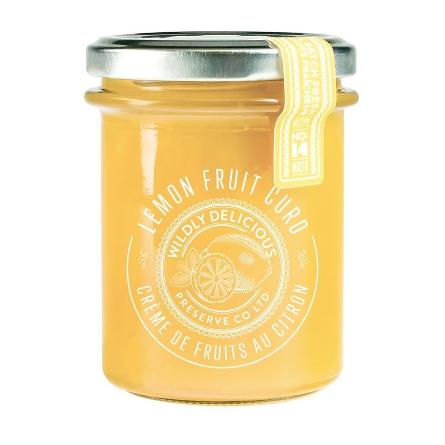 Lemon Fruit Curd  - Wildly Delicious - 185ml