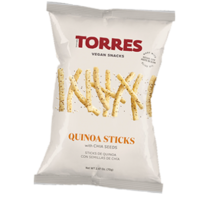 Croustilles quinoa et graines de chia - Torres - 90g