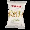 Croustilles haricots et pois saveur lime et poivre - Torres - 90g