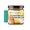 Caramel + Chocolat Noisette  + Grué 220g   ALLO SIMONNE