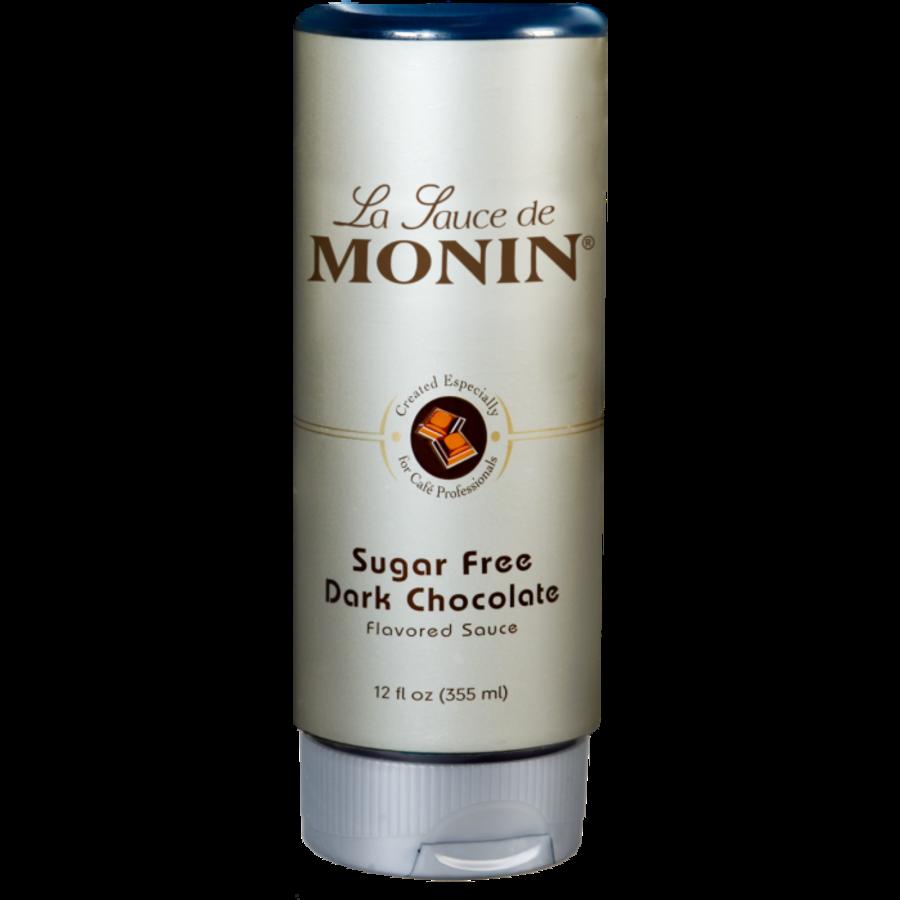 Sauce Chocolat noir sans sucre | Monin | 355ml