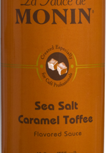 Sauce Caramel anglais et Sel de mer (Toffee) | Monin | 355ml