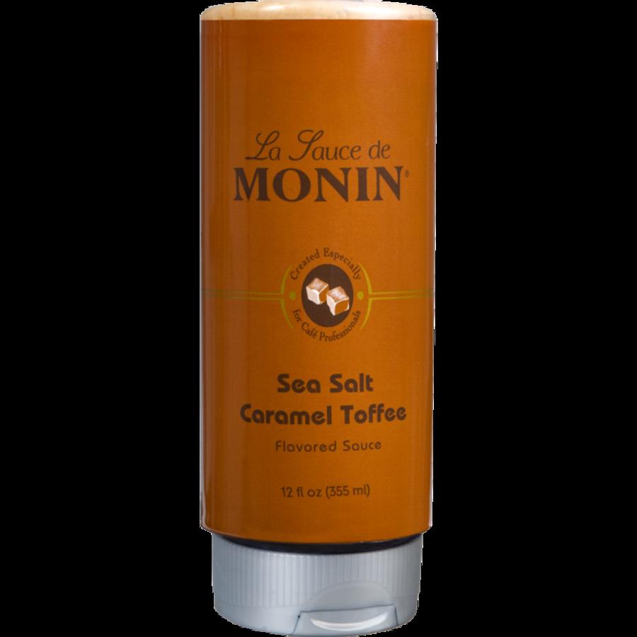 Sauce au caramel anglais et au sel de mer (Toffee) | Monin 355ml