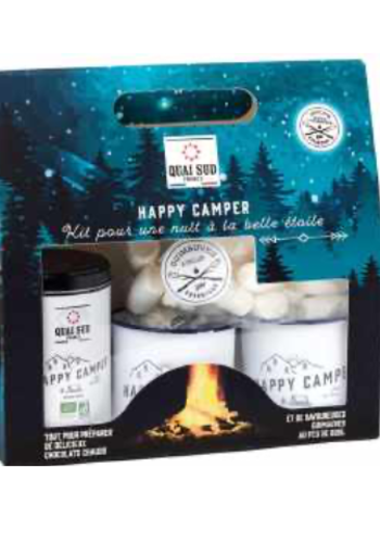 "Coffret ""Happy camper"" chocolat chaud | Quai Sud"