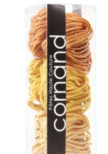 Tercio de tagliatelles laminées aux œufs : pamplemousse / orange / citron | pâtes haute couture | cornand | 333G