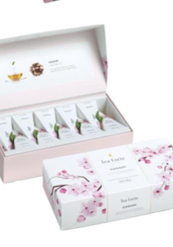 Coffret bio Hanami   Tea Forte 10 sachets