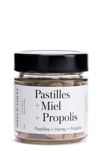 Pastilles + Mielk  + propolis + Huiles essentielles | Miel d'Anicet | 150g