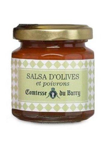 Salsa d'olives et de poivrons  | Comtesse du Barry 100g