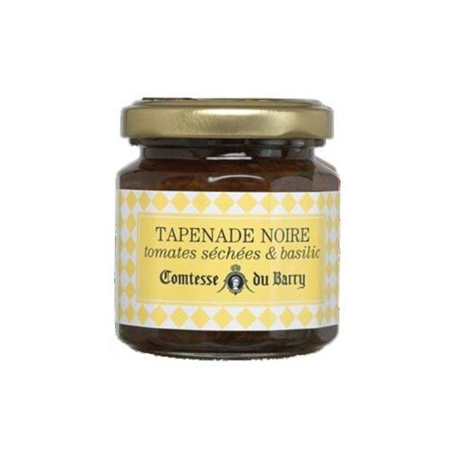 Tapenade noire , tomates séchées et basilic| Comtesse du Barry 100g
